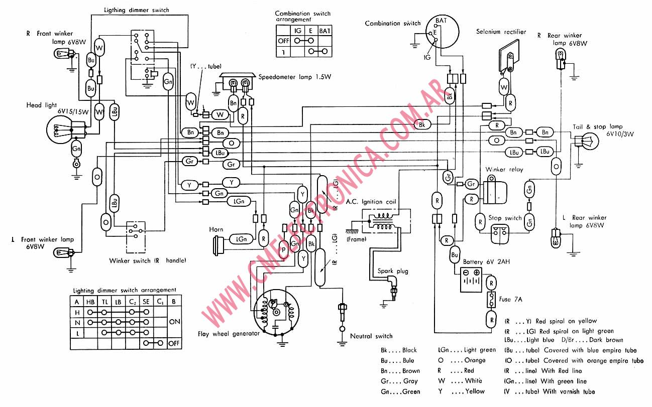 2005 honda trx450r headlight wiring diagram